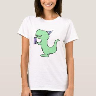 Camiseta Dinossauro do aniversário
