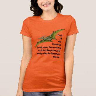Camiseta Dinossauro do dragão do Pterodactyl do