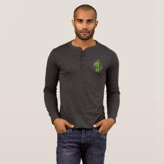Camiseta Dinossauro Henley de Rockosaur