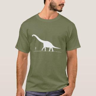 Camiseta Dinossauro & homem