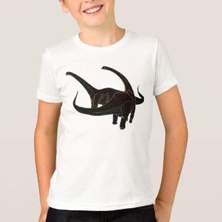Camiseta Dinossauros de néon