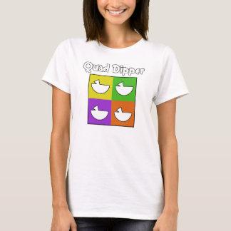 Camiseta Dipper do quadrilátero (parte dianteira somente)