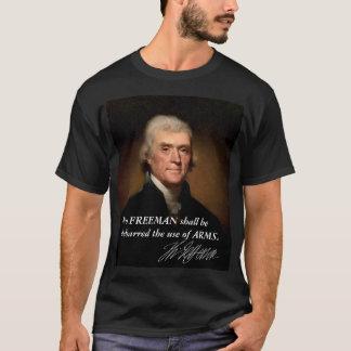 Camiseta Direito de Thomas Jefferson de carregar os braços
