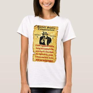 Camiseta Direito para carregar os braços