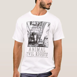 Camiseta Direitos civis animais (b)