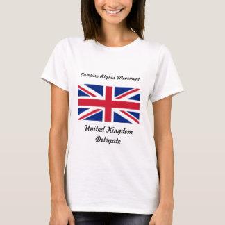 Camiseta Direitos do vampiro - Reino Unido