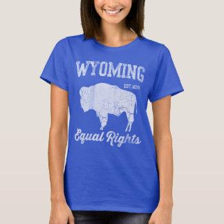 Camiseta Direitos iguais de Wyoming