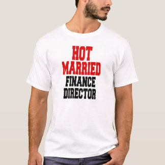 Camiseta Diretor casado quente da finança