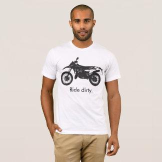 Camiseta Dirtbike - passeio sujo