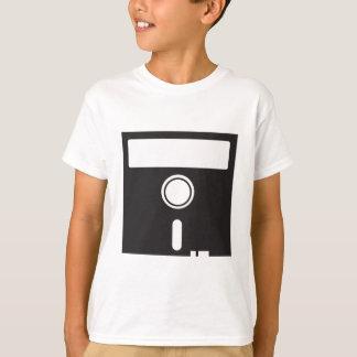 Camiseta Disco do disco flexível para o computador velho do