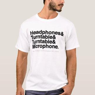 Camiseta Disco-jóquei de RRA