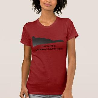 Camiseta Discrição infinito