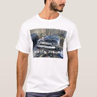 Camiseta Discrição Turbo de Dodge dos trabalhos em curso