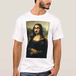 Camiseta Disfarce de Mona Lisa