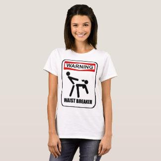 Camiseta Disjuntor de advertência da cintura