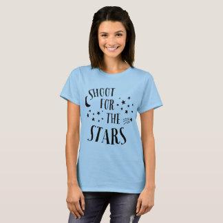 Camiseta Dispare para o Tshirt das estrelas