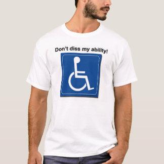 Camiseta dissability