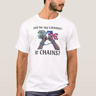 Camiseta Disse a MUDANÇA?