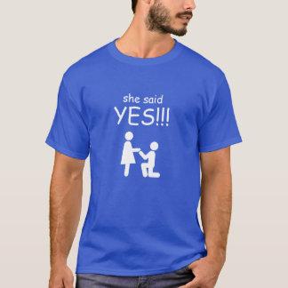 Camiseta Disse sim!