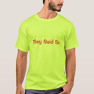 Camiseta Disseram assim