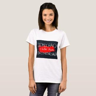 Camiseta Ditadura da democracia v