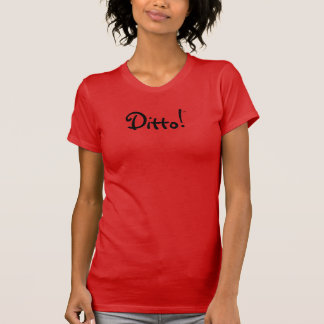 Camiseta Ditto! T-shirt americano do jérsei da multa do