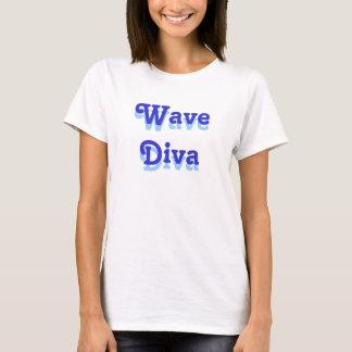 Camiseta Diva da onda, diva da onda