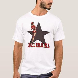Camiseta diva de derby do rolo