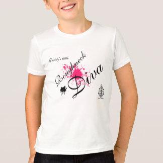 Camiseta DIVA do ROUGHNECK (splatter)