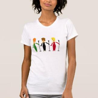 Camiseta Divas de canto Tshirt