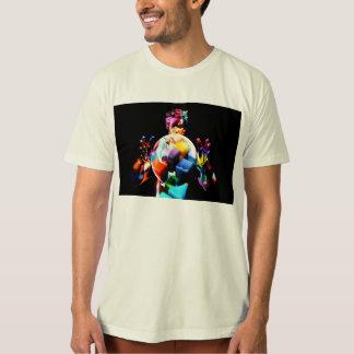 Camiseta Diversidade cultural na mão-de-obra e no aluguer