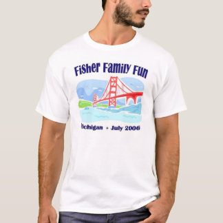 Camiseta Divertimento da família de Fisher