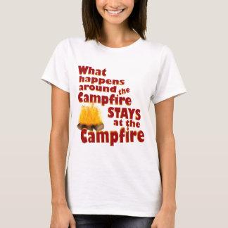 Camiseta Divertimento da fogueira