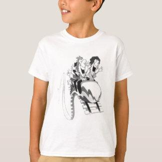 Camiseta Divertimento da montanha russa
