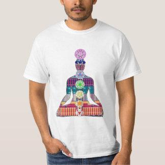 Camiseta DIVERTIMENTO da paz NVN630 da meditação da ioga do