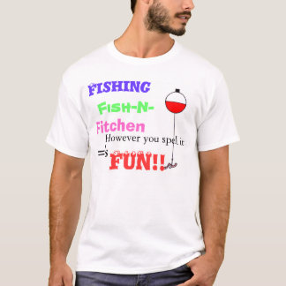 Camiseta Divertimento da pesca
