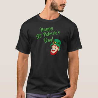 Camiseta Divertimento do dia de St Patrick feliz &
