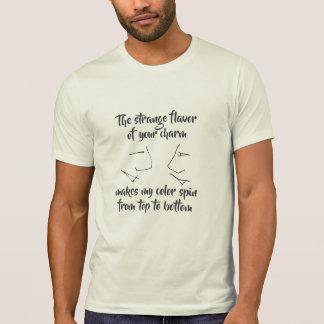 Camiseta Divertimento do quantum para geeks da ciência e da