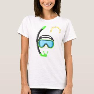 Camiseta divertimento do snorkel no tshirt snorkelling 3 do