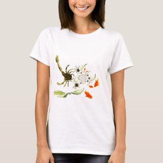 Camiseta Divertimento dos caranguejos e dos peixes da