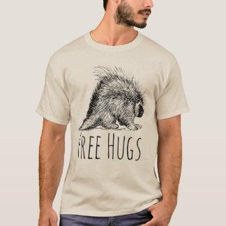 Camiseta Divertimento legal e porco- livre engraçado dos