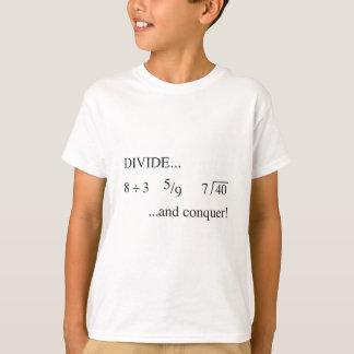 Camiseta Divida e conquiste