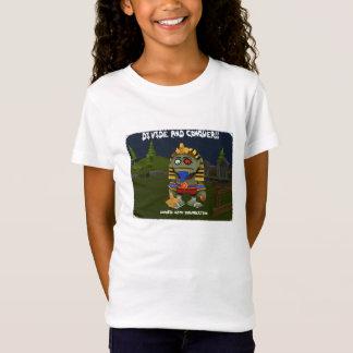 Camiseta Divida e conquiste - meninas