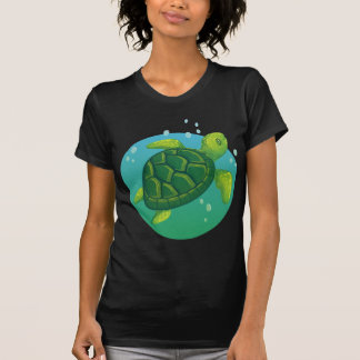Camiseta Diving water ocean sea turtle