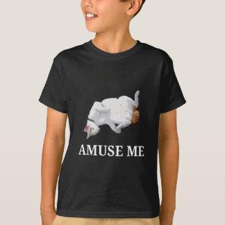 Camiseta Divirta-me (o branco)