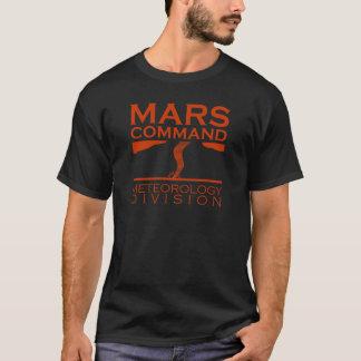 Camiseta Divisão da meteorologia do comando de Marte