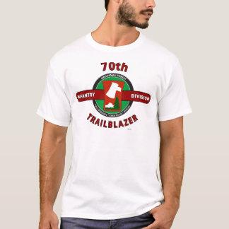 """Camiseta DIVISÃO de INFANTARIA """"PIONEIRO """" do 70"""