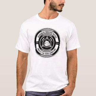 Camiseta Divisão do T das táticas de Dogecoin