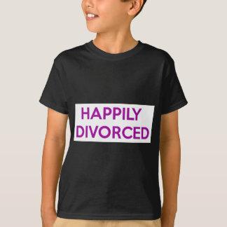 Camiseta Divorciado feliz - feliz ser divorciado
