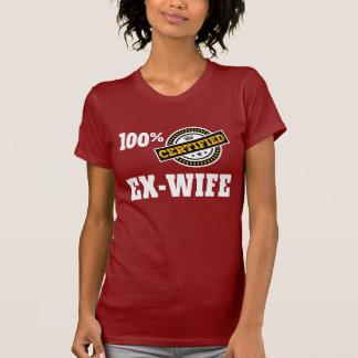 Camiseta Divórcio ex engraçado da esposa